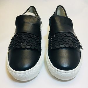 AGL Leather Slip On's Brand New